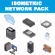Isometric Network Pack