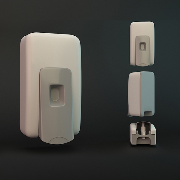 Soap Dispenser  - 3DOcean Item for Sale