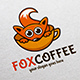 Fox Coffee Logo Template