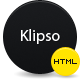 Klipso | HTML/CSS Portfolio Template - ThemeForest Item for Sale