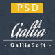 Gallia - Multi-Purpose PSD Template