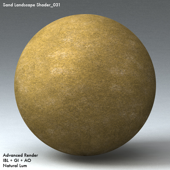 Sand Landscape Shader_031 - 3DOcean Item for Sale