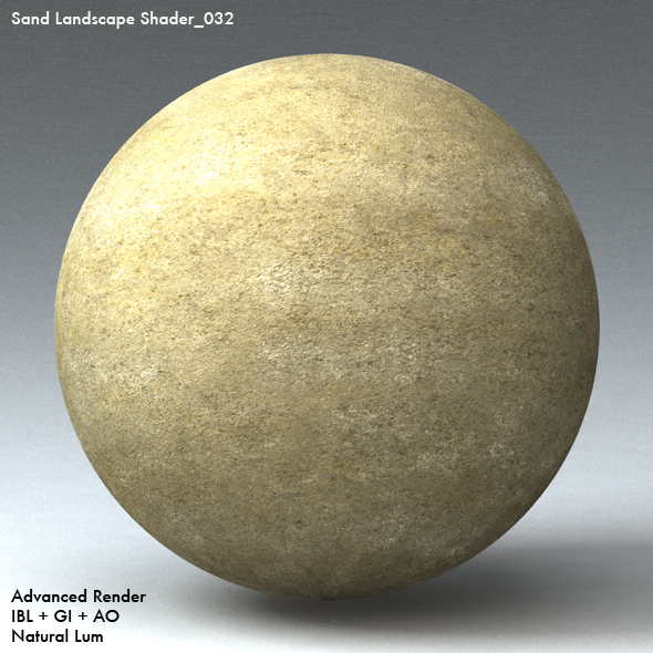 Sand Landscape Shader_032 - 3DOcean Item for Sale