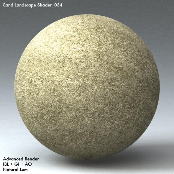 Sand Landscape Shader_034 - 3DOcean Item for Sale