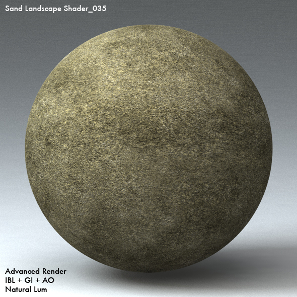 Sand Landscape Shader_035 - 3DOcean Item for Sale