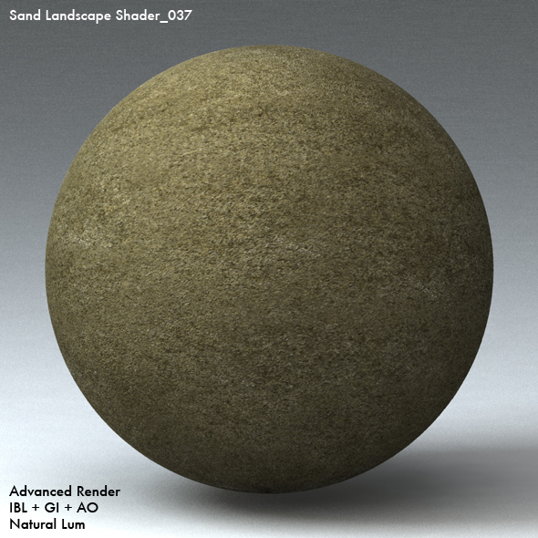Sand Landscape Shader_037 - 3DOcean Item for Sale