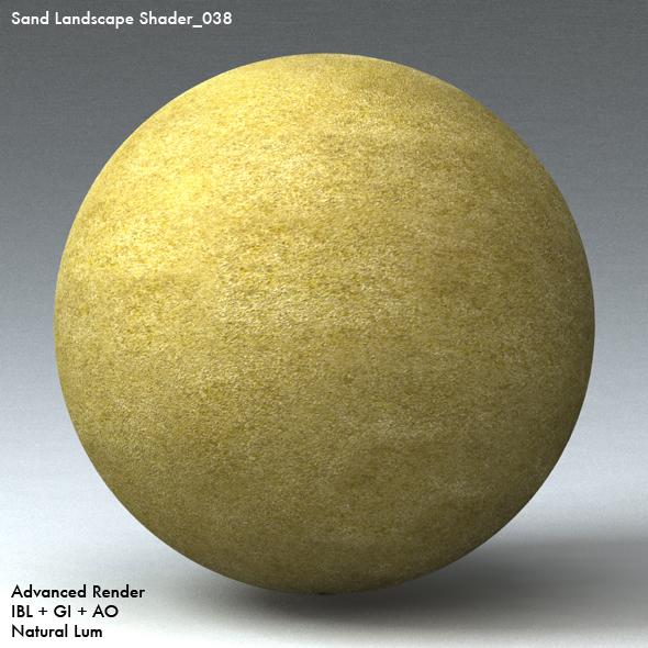 Sand Landscape Shader_038 - 3DOcean Item for Sale