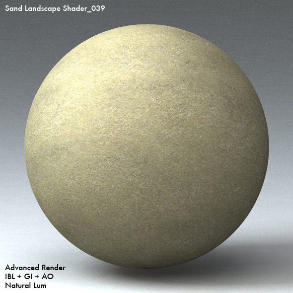 Sand Landscape Shader_039 - 3DOcean Item for Sale