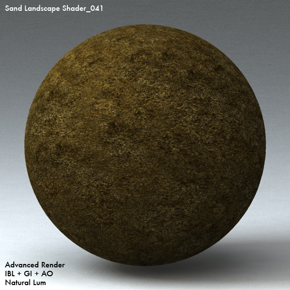 Sand Landscape Shader_041 - 3DOcean Item for Sale
