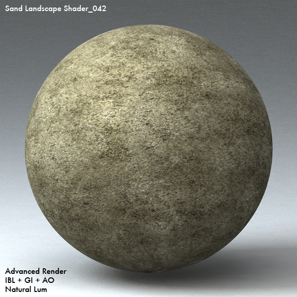 Sand Landscape Shader_042 - 3DOcean Item for Sale