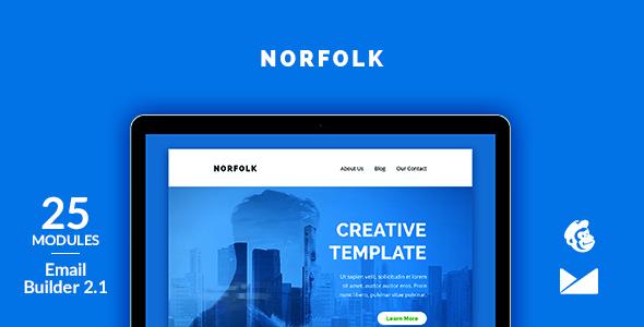 Norfolk Email Template + Online Emailbuilder 2.1