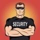 Security Guard Comics Design