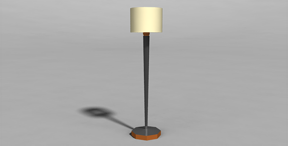 Lamp - 3DOcean Item for Sale