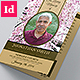 Cherry Blossom Funeral Indesign Brochure Template