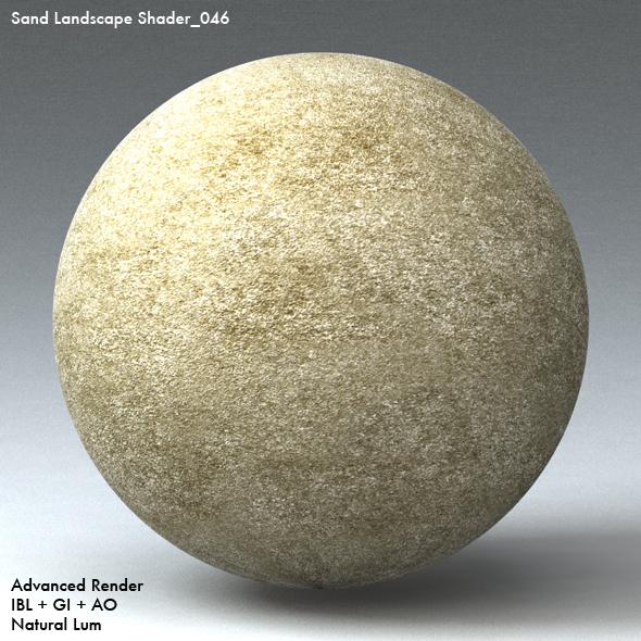 Sand Landscape Shader_046 - 3DOcean Item for Sale