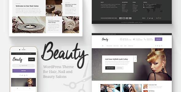 23 - Beauty - Hair Salon, Nail, Spa, Fashion WP Theme