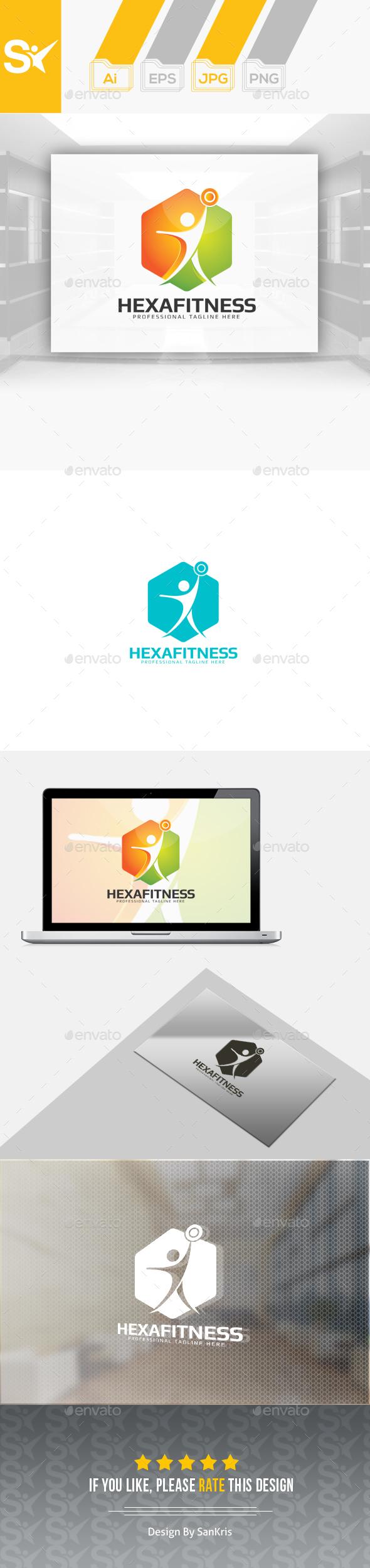 Fitness Hexa Logo