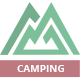 Camping Village - Campground Caravan & Tent Accommodation PSD