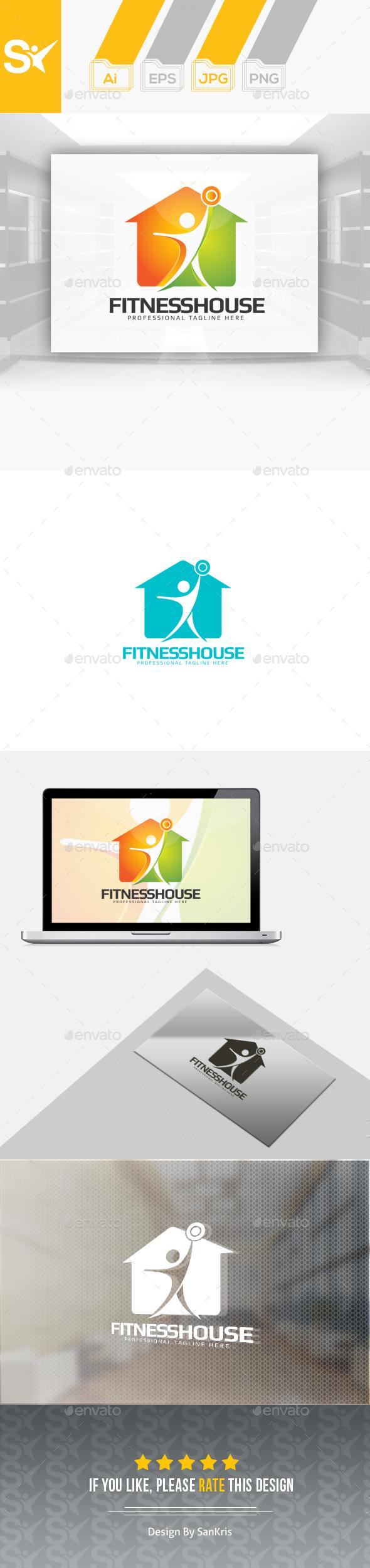 Fitness House Logo