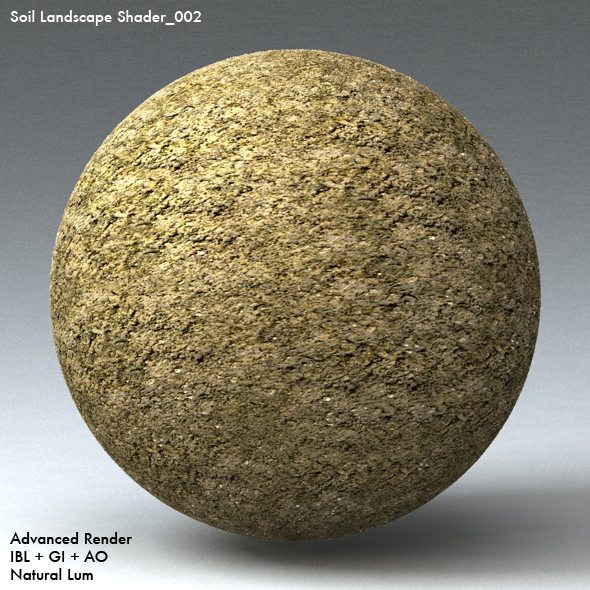 Soil Landscape Shader_002 - 3DOcean Item for Sale