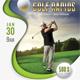 Golf Flyer Template 06
