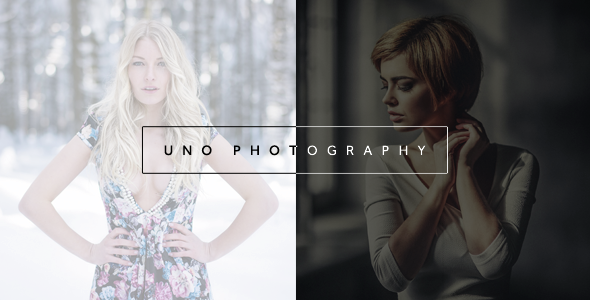 23. Uno - Creative Photography Template