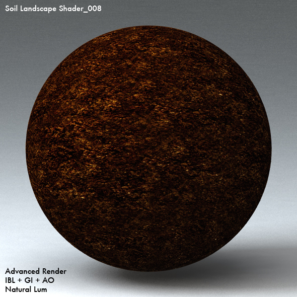 Soil Landscape Shader_008 - 3DOcean Item for Sale