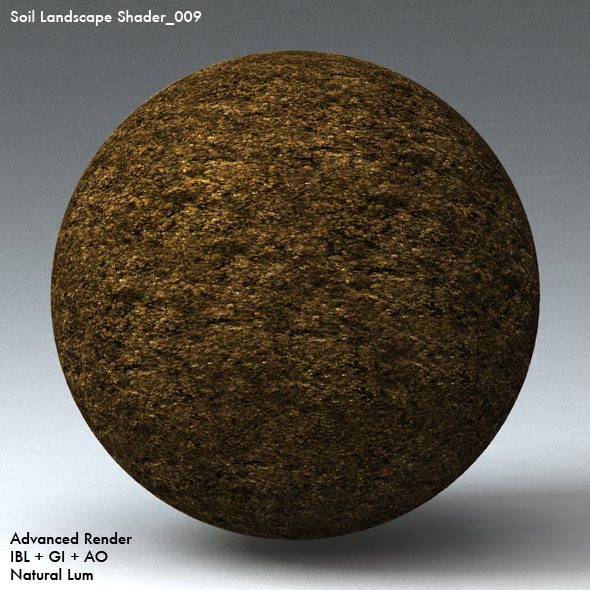 Soil Landscape Shader_009 - 3DOcean Item for Sale