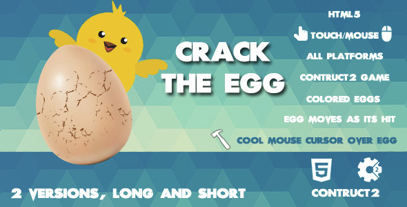 Crack The Egg Clicker Game
