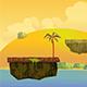 Game Asset Jump Background