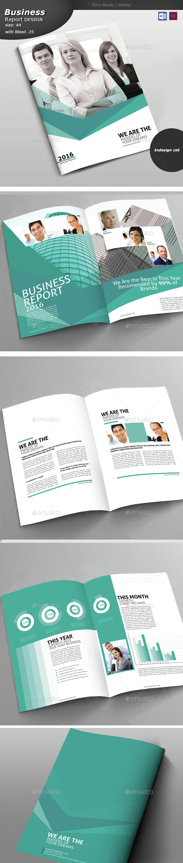 Annual Report Design Graphics Designs Templates - Brochure design templates indesign