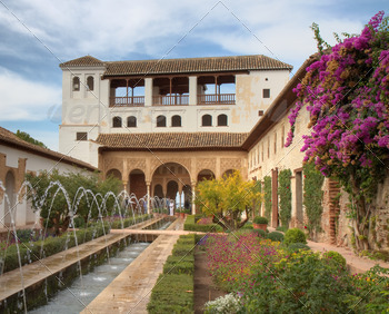 Patio de la Acequia of the Generalife