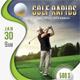 Golf Open Poster Template V06