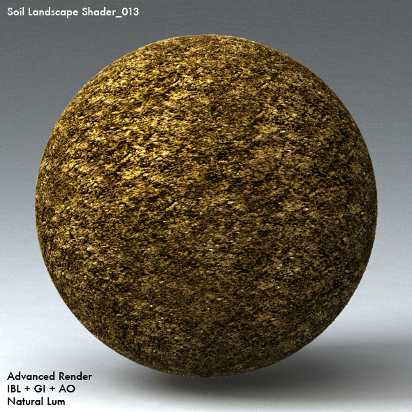 Soil Landscape Shader_013 - 3DOcean Item for Sale