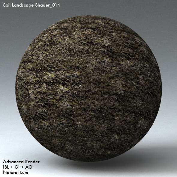 Soil Landscape Shader_014 - 3DOcean Item for Sale