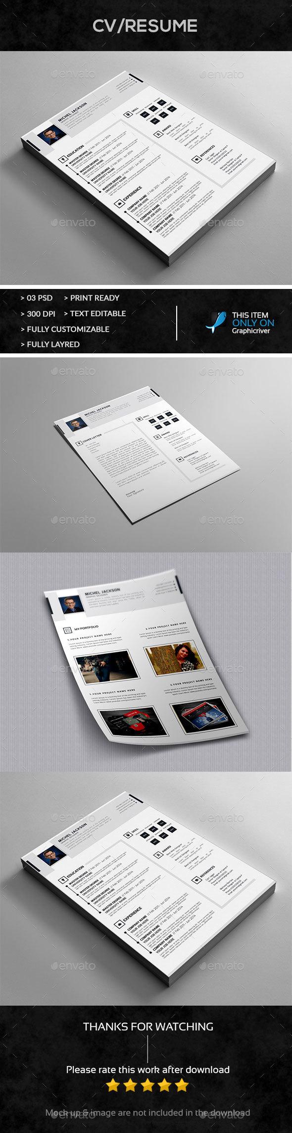 Resume+Cover+Portfolio Letter