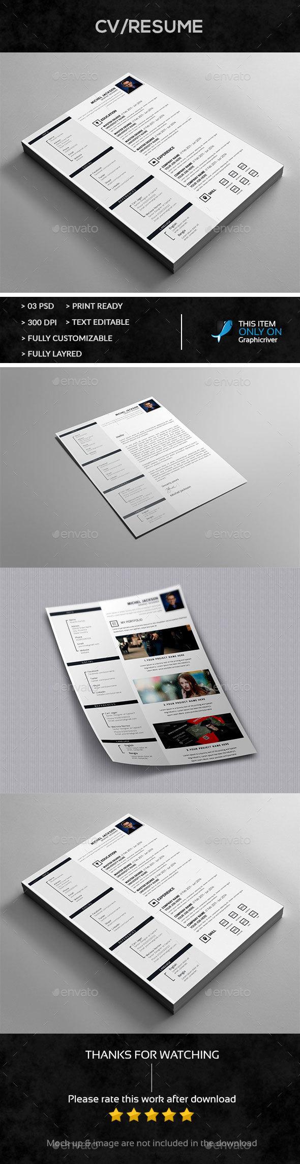 Resume+Cover Letter Design