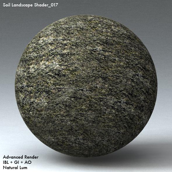 Soil Landscape Shader_017 - 3DOcean Item for Sale