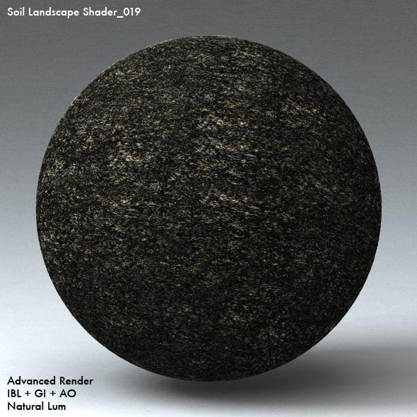 Soil Landscape Shader_019 - 3DOcean Item for Sale
