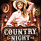 Country Night Flyer Template v2