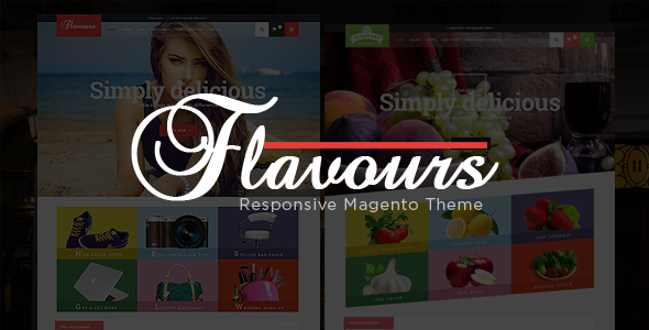 Flavours - Fruit Store, Fashion Store Responsive Magento Theme