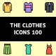 The Clothes Icons 100