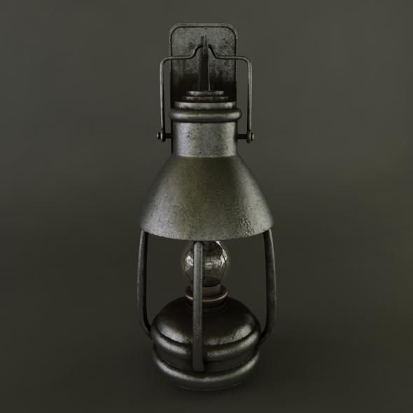 oillamp - 3DOcean Item for Sale