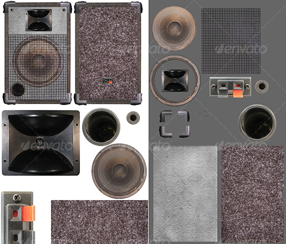 Loudspeakers kit 02