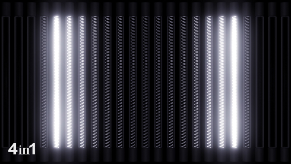 VideoHive Lights White Panel 4-Pack 14699865