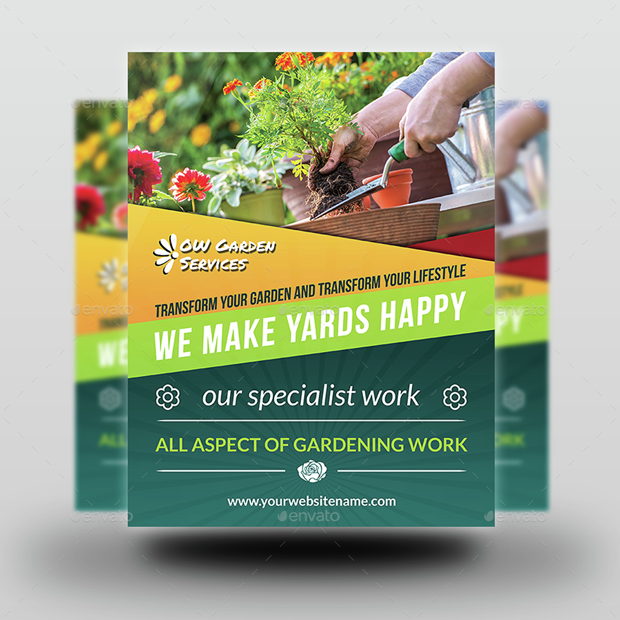 garden services flyer template vol by owpictures graphicriver garden services flyer template vol 3