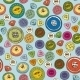 Seamless Pattern With Multicolored Buttons