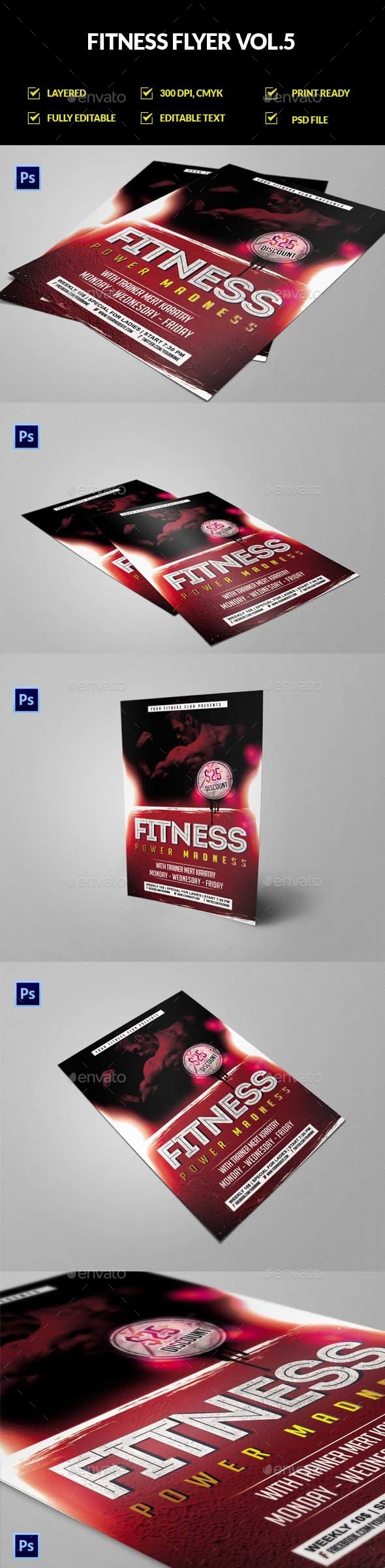 Fitness Flyer Vol.5