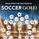 Soccer Gold Flyer