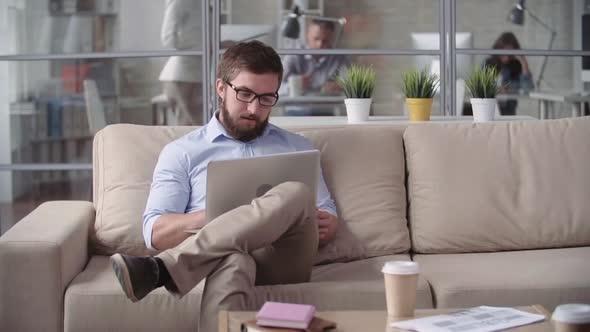 Työskentely Modern Office - Business, Corporate Arkistofilmit